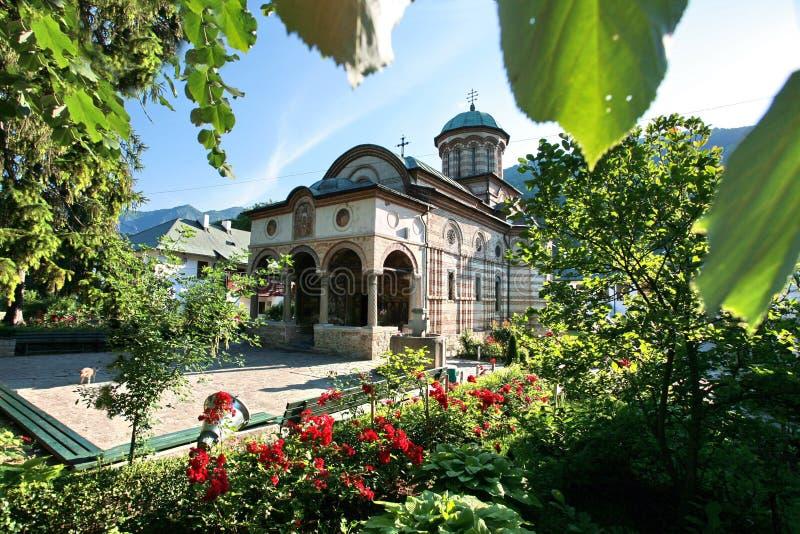 Monasterio de Cozia imágenes de archivo libres de regalías