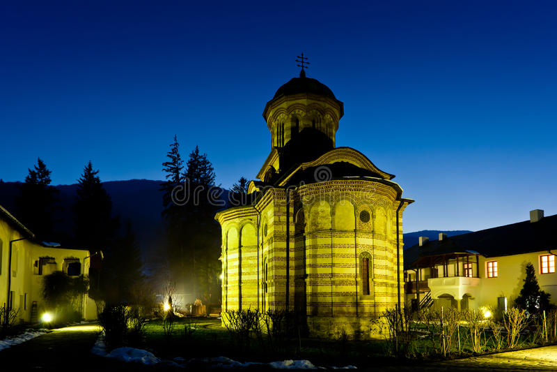 Monasterio de Cozia foto de archivo