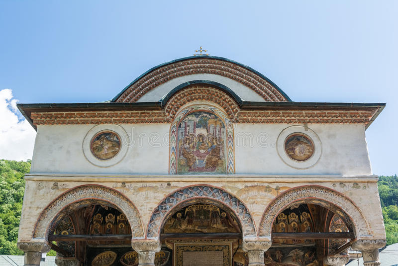 Monasterio de Cozia fotografía de archivo