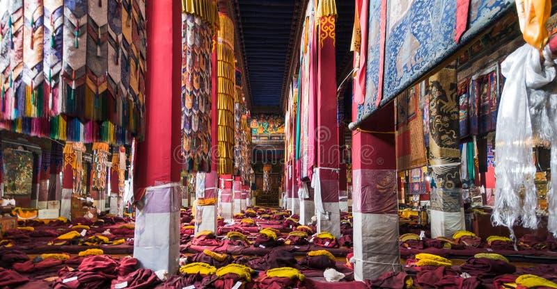Monasterio de Drepung en el monasterio de ChinannDrepung en China imagen de archivo