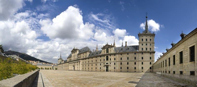 Monasterio de El Escorial. Madrid Spain stock image
