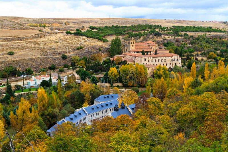 Monasterio de El Parral, Segovia, Spain. Santa Maria del Parral is a convent of the Hieronymites just outside the walls of Segovia, Spain stock photography