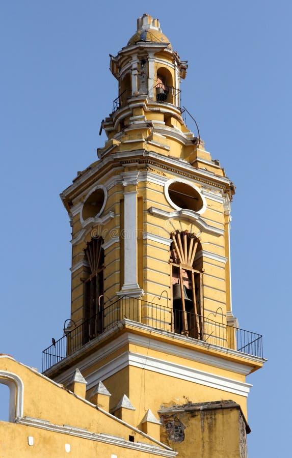 Monasterio de Gabriel Archangel del santo, Cholula, Puebla, México fotografía de archivo libre de regalías