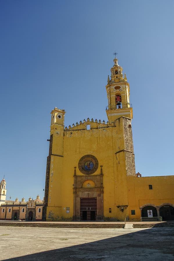 Monasterio de Gabriel Archangel del santo (Convento de San Gabriel), Cholul imágenes de archivo libres de regalías