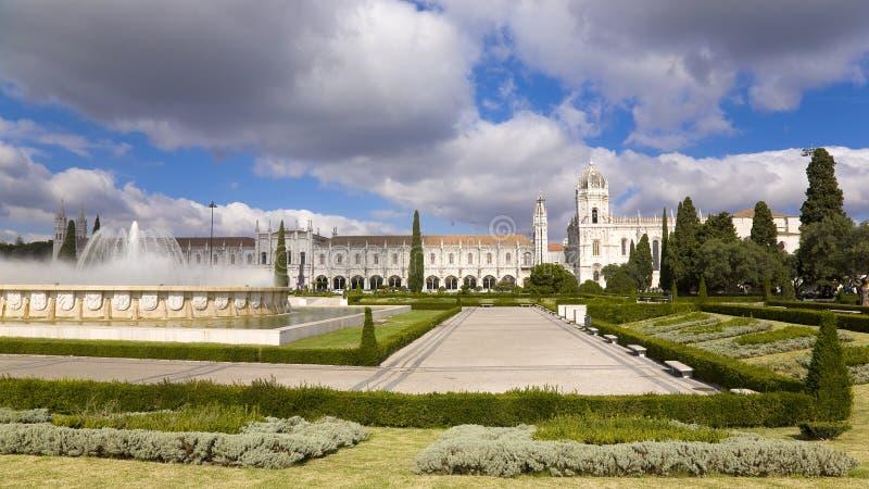 Monasterio de Geronimos - siglo XV. Lisboa Portugal imagen de archivo