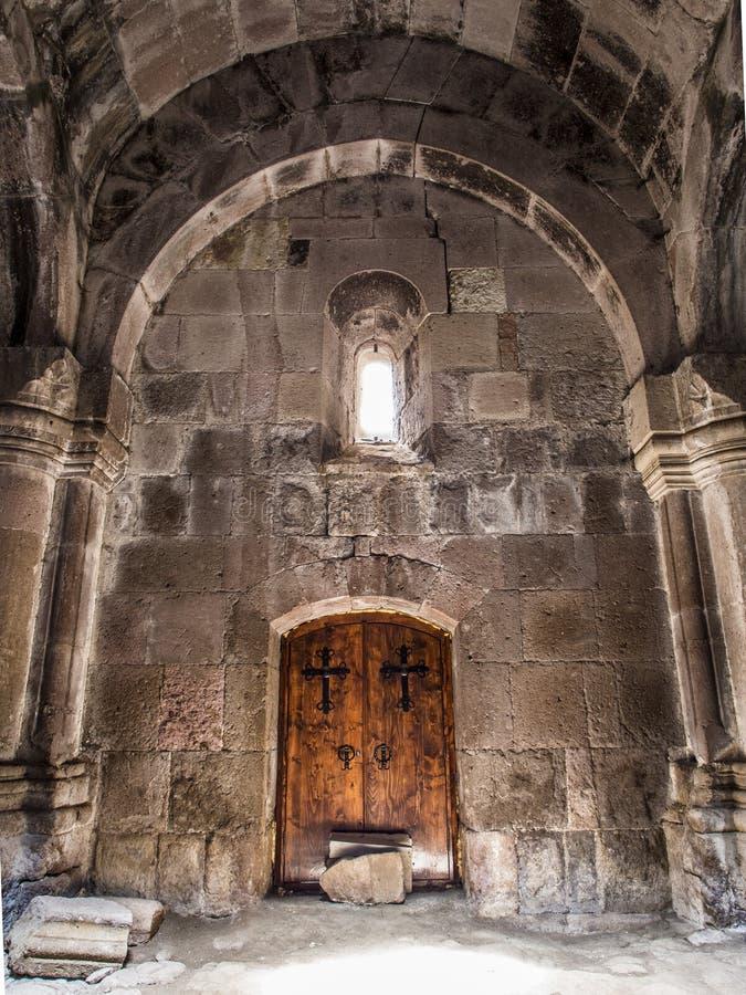 Monasterio de Goshavank fotografía de archivo libre de regalías