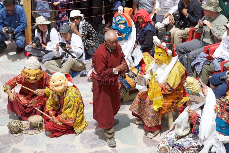 Monasterio de Hemis, Ladakh, la India imágenes de archivo libres de regalías