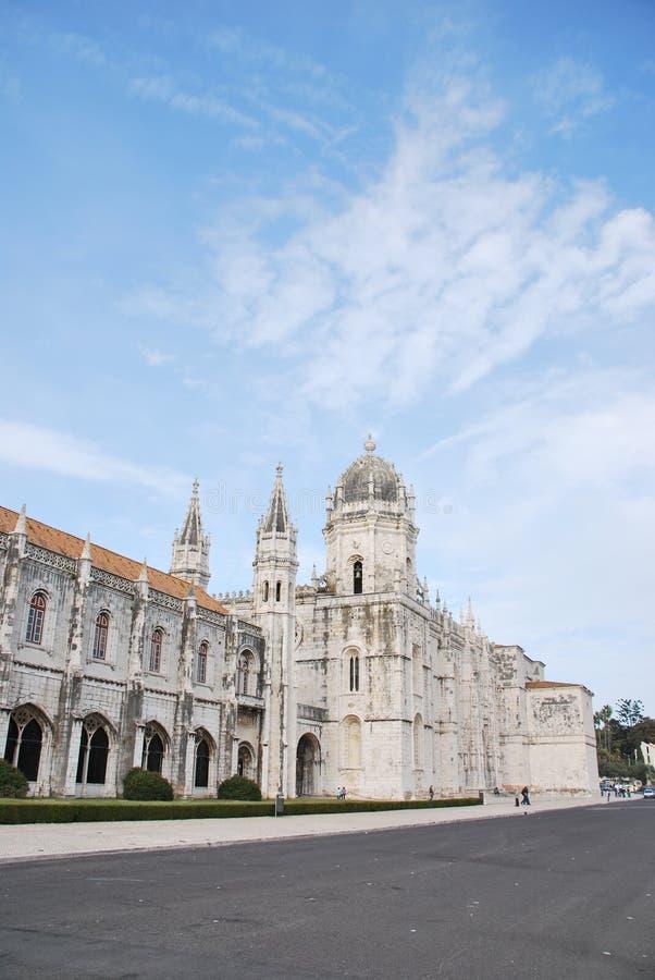 Monasterio de Hieronymites en Lisboa foto de archivo libre de regalías