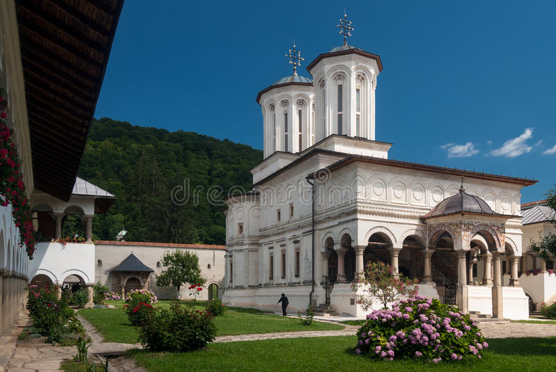 Monasterio de Horezu, Rumania fotografía de archivo libre de regalías