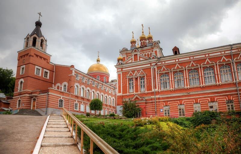 Monasterio de Iversky en día de verano en el Samara, Rusia foto de archivo libre de regalías