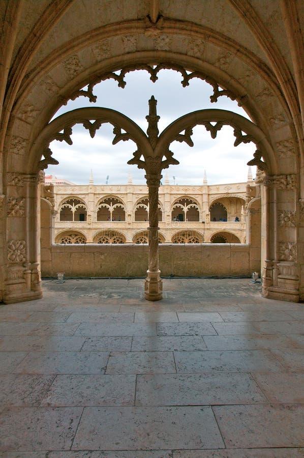 Monasterio de Jeronimo imagenes de archivo