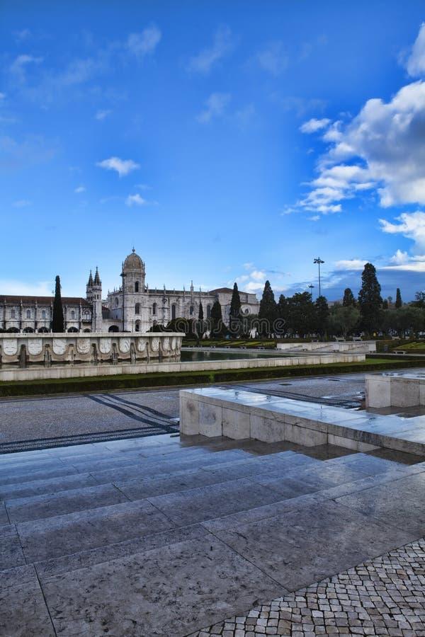 Monasterio de Jeronimo en Lisboa foto de archivo libre de regalías