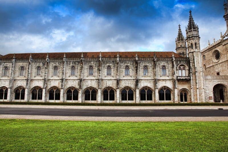 Monasterio de Jeronimo en Lisboa, Portugal Patrimonio mundial s de la UNESCO fotografía de archivo