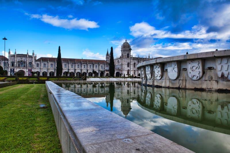 Monasterio de Jeronimo en Lisboa, Portugal Patrimonio mundial s de la UNESCO foto de archivo