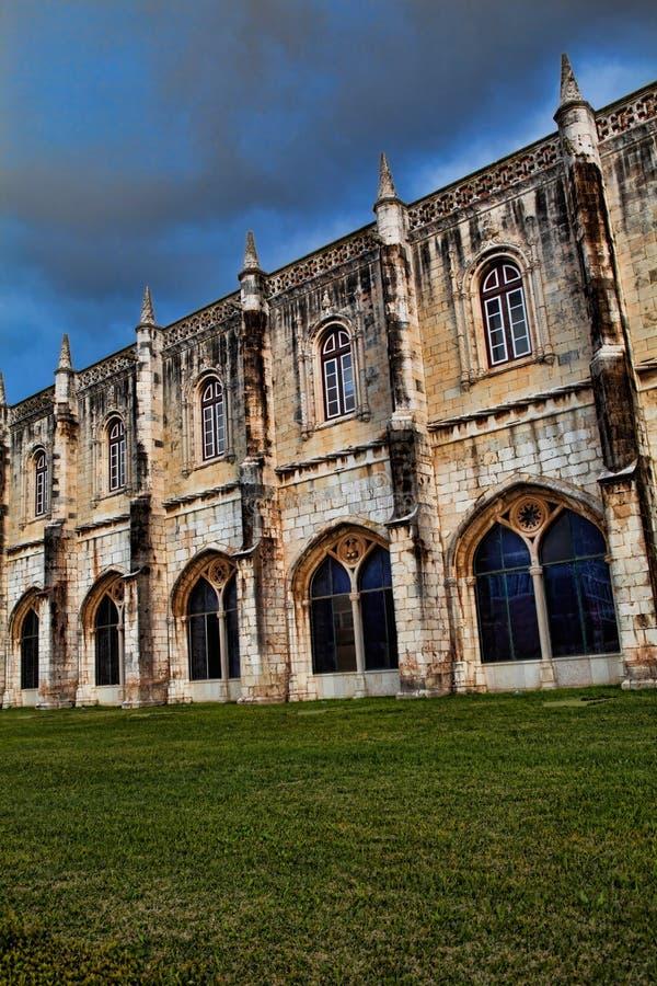 Monasterio de Jeronimo en Lisboa, Portugal Patrimonio mundial s de la UNESCO fotos de archivo