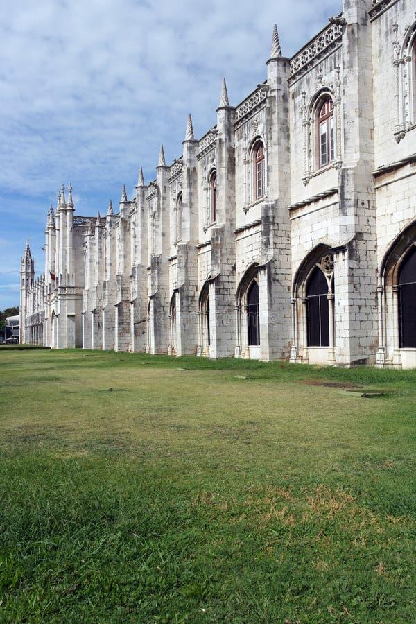 Monasterio de Jeronimos, Lisboa, Portugal fotografía de archivo