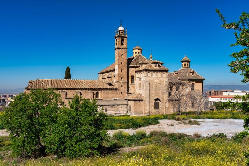 Monasterio de la Cartuja em Granada, a Andaluzia, Espanha imagem de stock