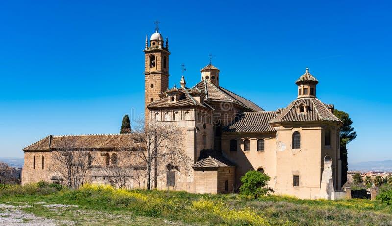 Monasterio de la Cartuja em Granada, a Andaluzia, Espanha foto de stock