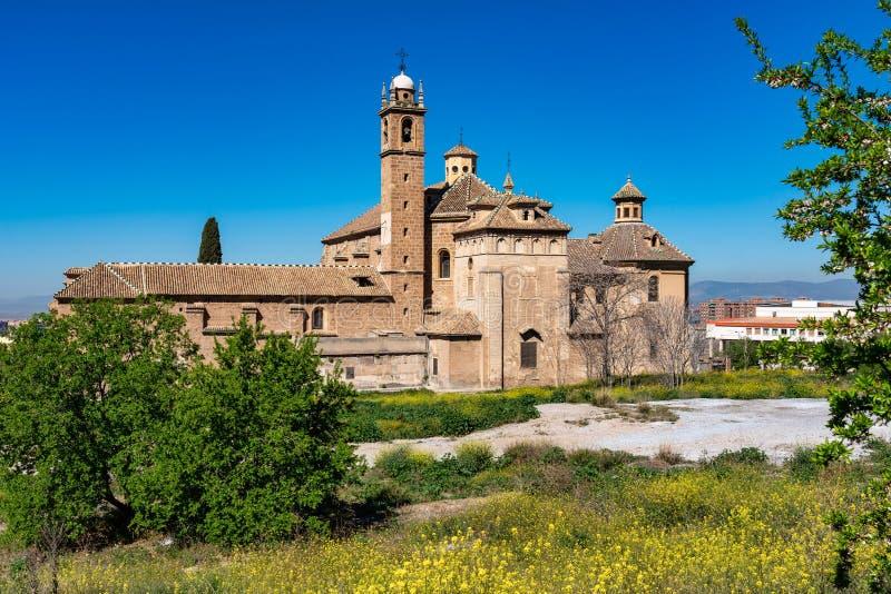 Monasterio de la Cartuja em Granada, a Andaluzia, Espanha imagens de stock