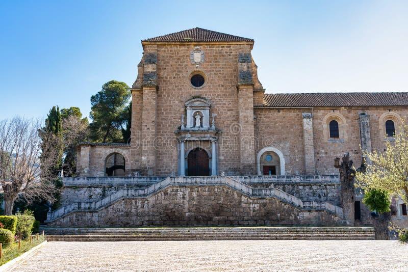 Monasterio DE La Cartuja in Granada, Andalusia, Spanje royalty-vrije stock afbeelding