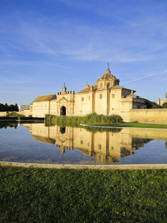 Monasterio de la Cartuja, Sevilha foto de stock
