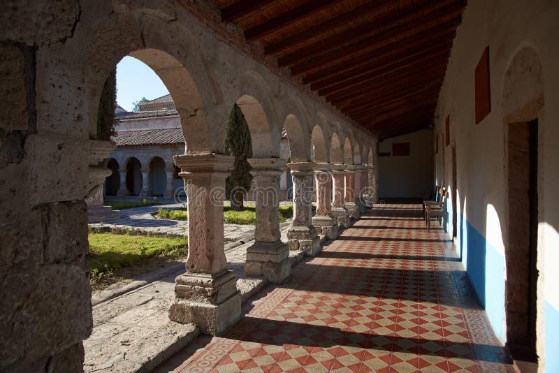 Monasterio de la Recoleta imagem de stock