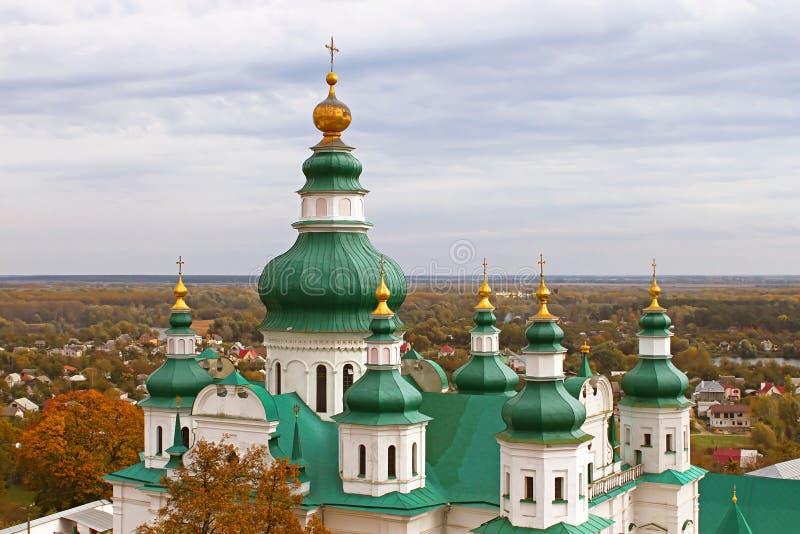 Monasterio de la trinidad en Chernigiv, Ucrania imagenes de archivo