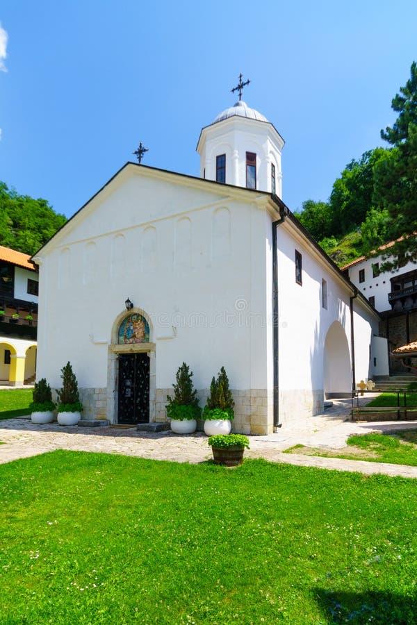 Monasterio de la trinidad santa, Pljevlja fotografía de archivo