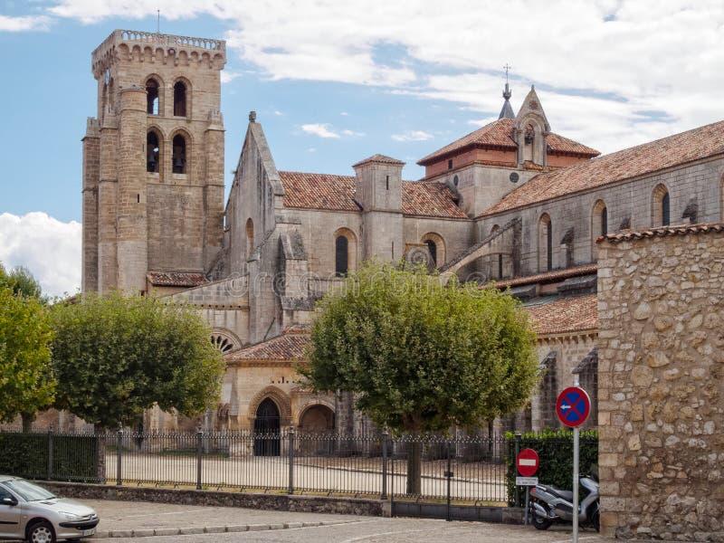 Monasterio DE las Huelgas - Burgos royalty-vrije stock afbeelding