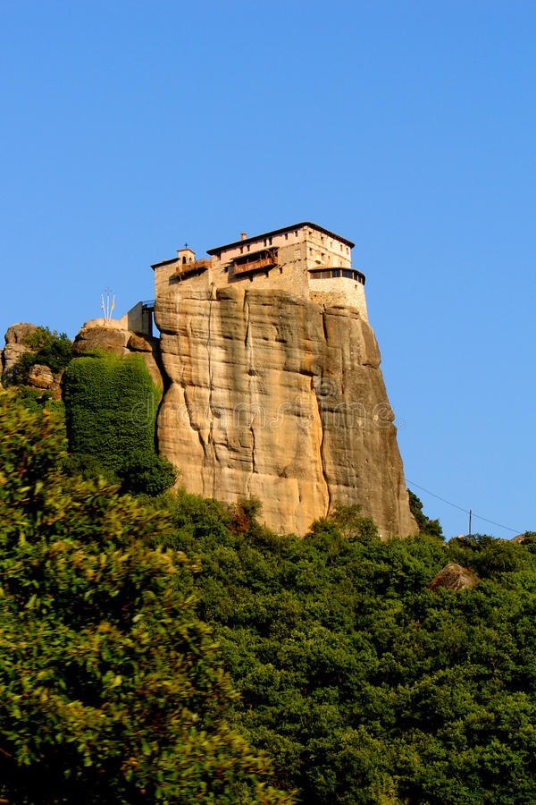 Monasterio de Meteora imágenes de archivo libres de regalías