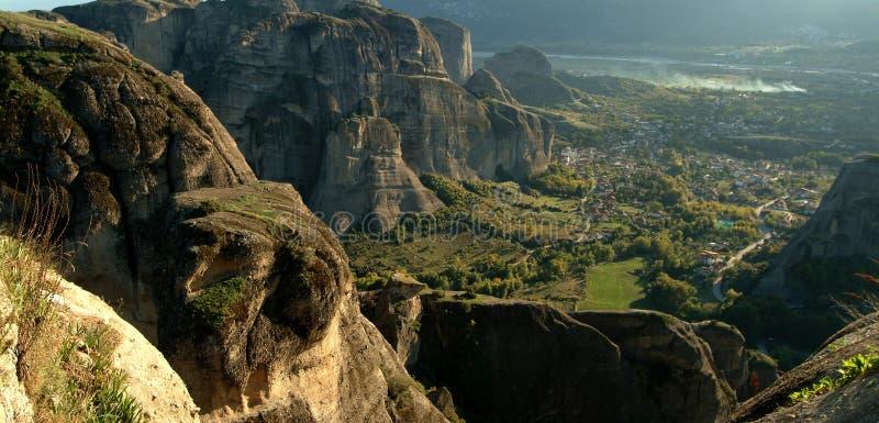 Monasterio de Meteora, Grecia foto de archivo libre de regalías