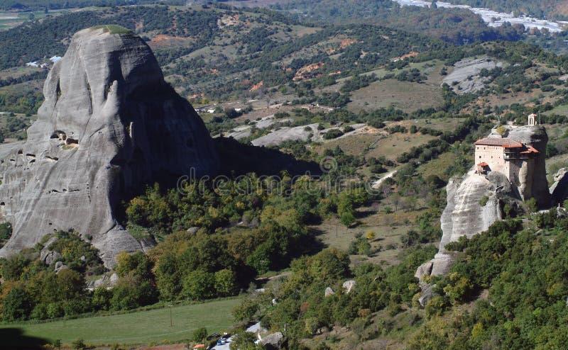 Monasterio de Meteora, Grecia fotografía de archivo libre de regalías