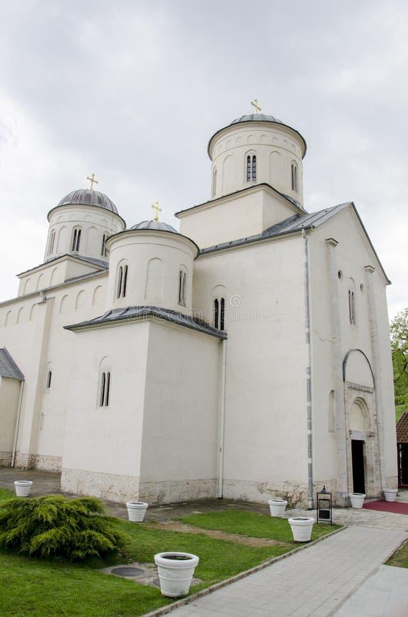 Monasterio de Mileseva en Serbia foto de archivo