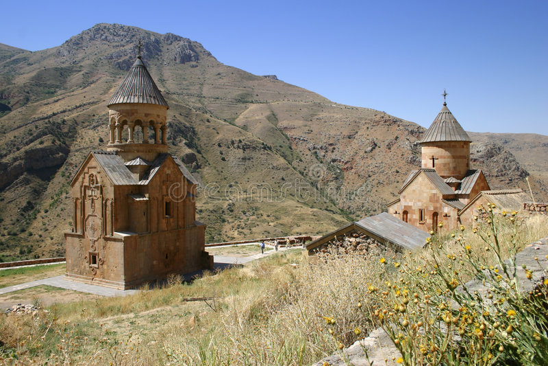 Monasterio de Noravank fotos de archivo libres de regalías