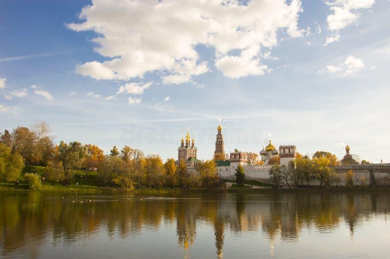 Monasterio de Novodevichy foto de archivo libre de regalías