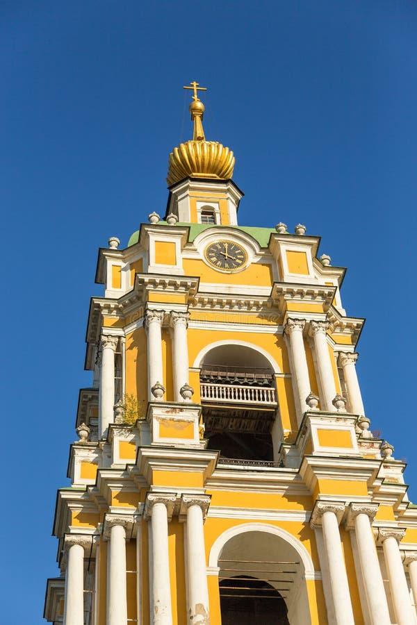 Monasterio de Novospassky, monasterios fortificados, Moscú, Rusia imágenes de archivo libres de regalías