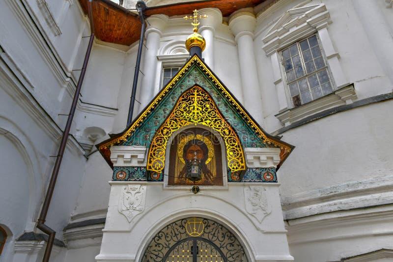 Monasterio de Novospassky - Moscú, Rusia foto de archivo libre de regalías