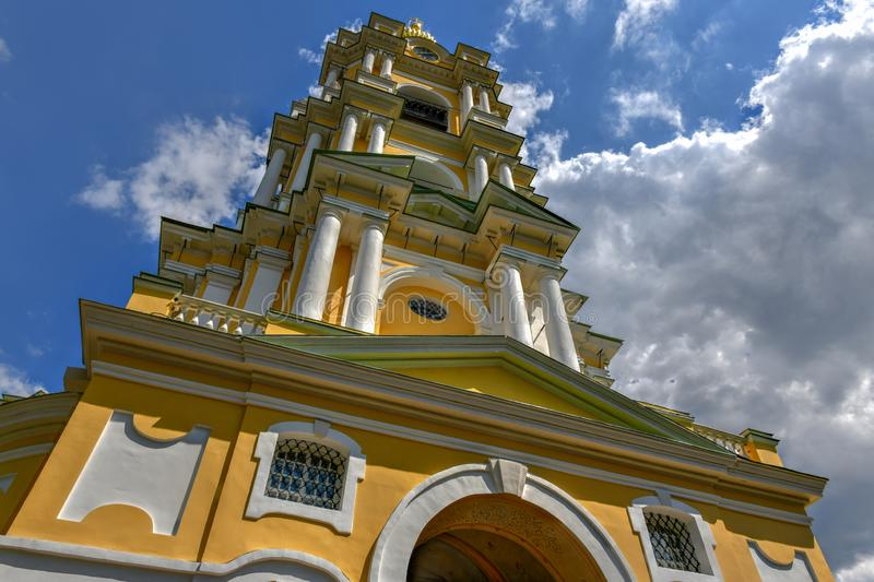 Monasterio de Novospassky - Moscú, Rusia imagen de archivo libre de regalías
