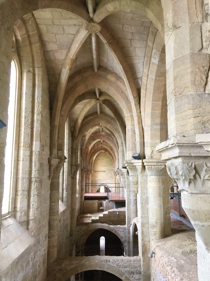 Monasterio de nuevo St Clare de Papá Noel Clara-uno-Nova imágenes de archivo libres de regalías