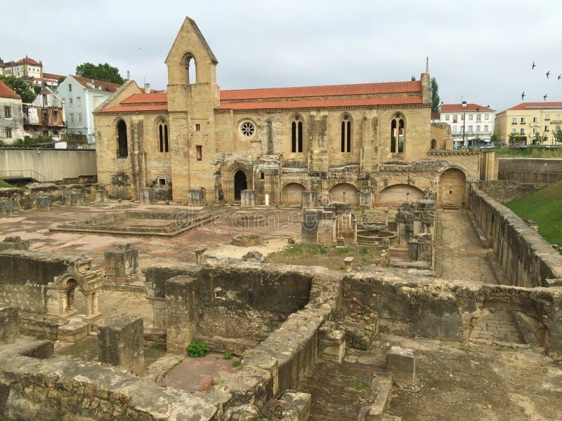 Monasterio de nuevo St Clare de Papá Noel Clara-uno-Nova foto de archivo libre de regalías