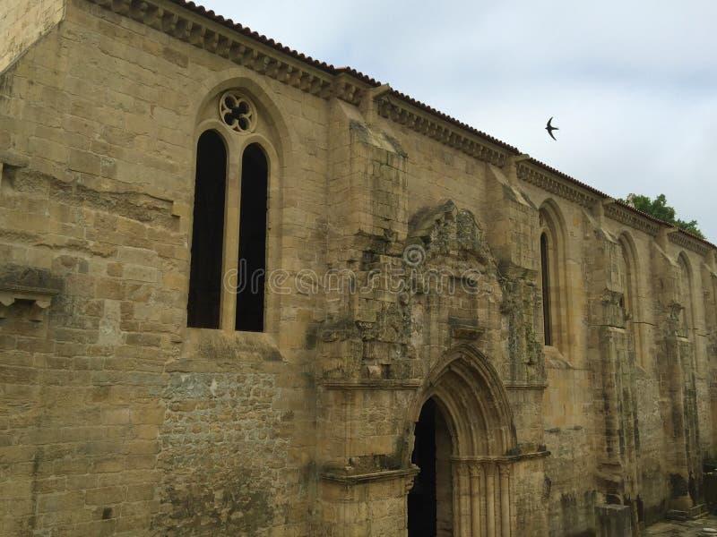 Monasterio de nuevo St Clare de Papá Noel Clara-uno-Nova fotografía de archivo