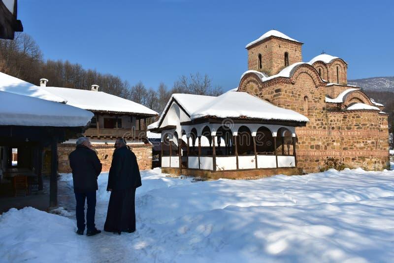 Monasterio de Poganovo, Serbia foto de archivo libre de regalías