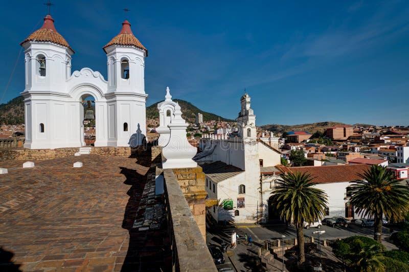 Monasterio de San Felipe Neri en Sucre Bolivia fotografía de archivo