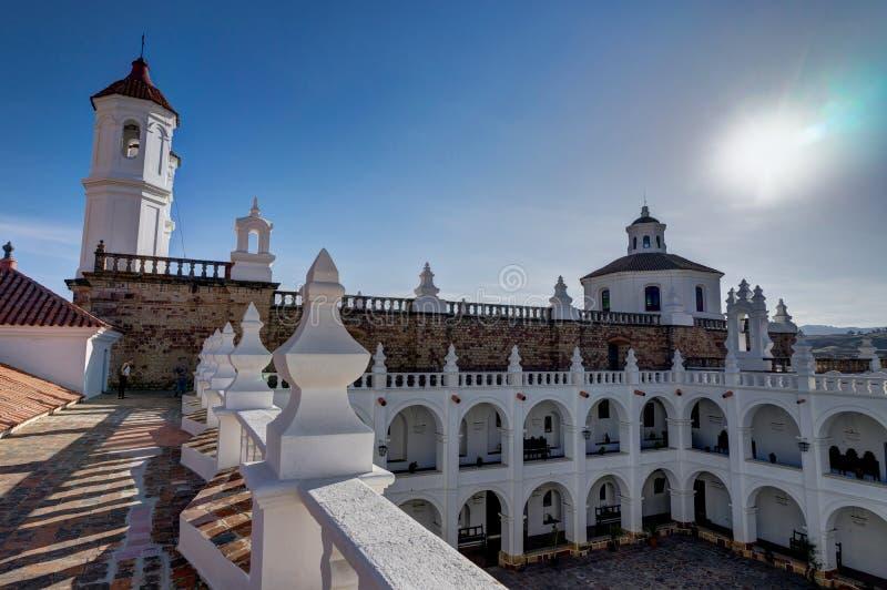 Monasterio de San Felipe Neri en Sucre Bolivia fotos de archivo