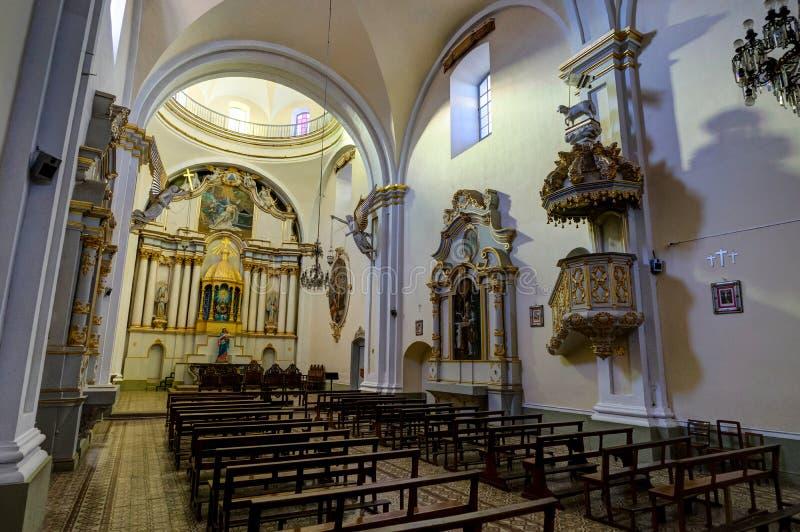 Monasterio de San Felipe Neri en Sucre Bolivia fotos de archivo libres de regalías