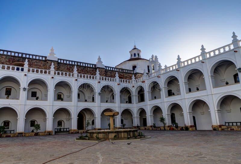 Monasterio de San Felipe Neri en Sucre Bolivia foto de archivo