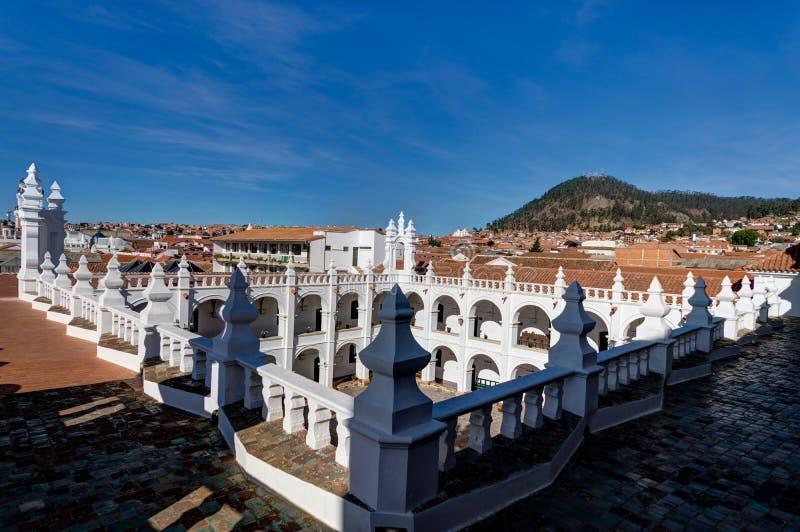Monasterio de San Felipe Neri en Sucre Bolivia imagen de archivo libre de regalías