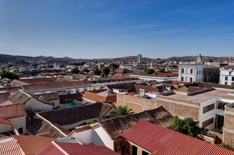 Monasterio de San Felipe Neri en Sucre Bolivia foto de archivo libre de regalías