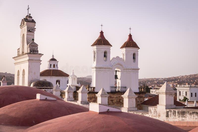 Monasterio de San Felipe Neri en Sucre, Bolivia fotos de archivo libres de regalías