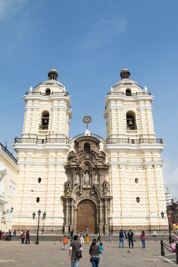 Monasterio de San Fransisco fotografía de archivo libre de regalías